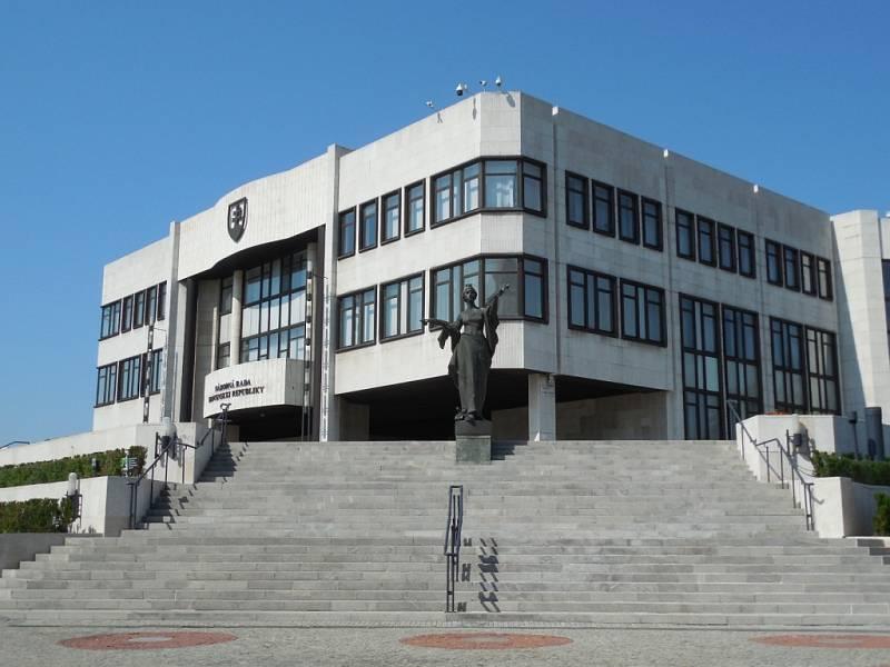 Národní rada SR v Bratislavě