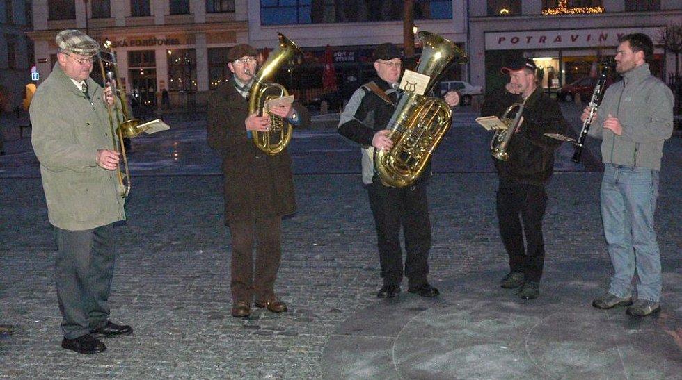 Trubači na Masarykove náměstí