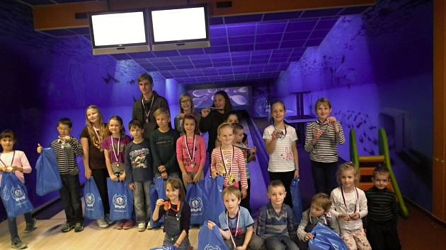Čtvrtý ročník bowlingového turnaje pro děti do 15 let Stop drogám