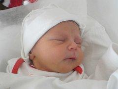 Denis Doležel, Přerov, narozen dne 6. dubna 2013 v Přerově, míra: 45 cm, váha: 2 500 g
