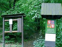 Rezervace Hůrka řáděním vandalů trpí již delší čas. Turisté si na nové cedule počkají.