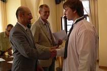 Nejlepší žáci Střední průmyslové školy v Hranicích dostali ocenění za kvalitní studijní výsledky a reprezentaci školy.