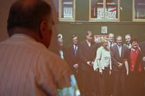 Minigalerii, která mapuje historii i současnost železniční dopravy v Přerově, zpřístupnili ve čtvrtek 23. dubna  v prostorách budovy v Kojetínské ulici zástupci nadace Okřídlené kolo a magistrátu města.