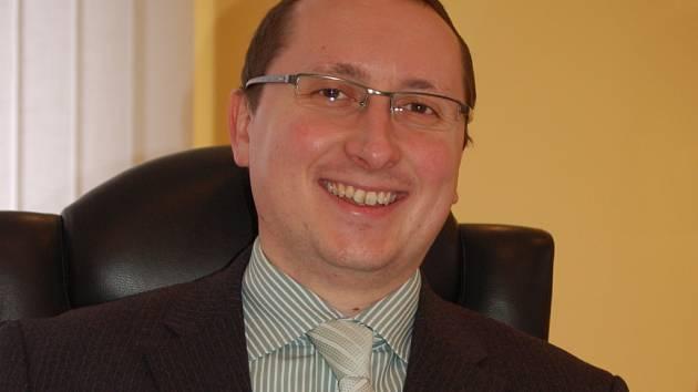 Ředitel nemocnice v Přerově Roman Gavanda.