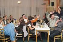 Řadu restaurací na Přerovsku obsadily v těchto dnech firemní večírky.