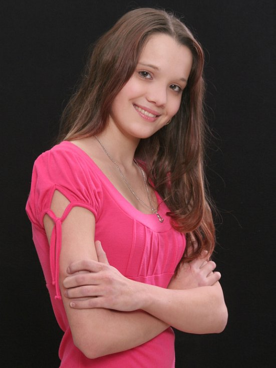 4. Adriana Vostřezová, 14 let, Hranice