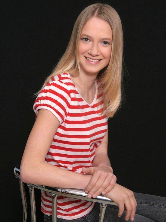 5. Alžběta Jagošová, 13 let, Hranice