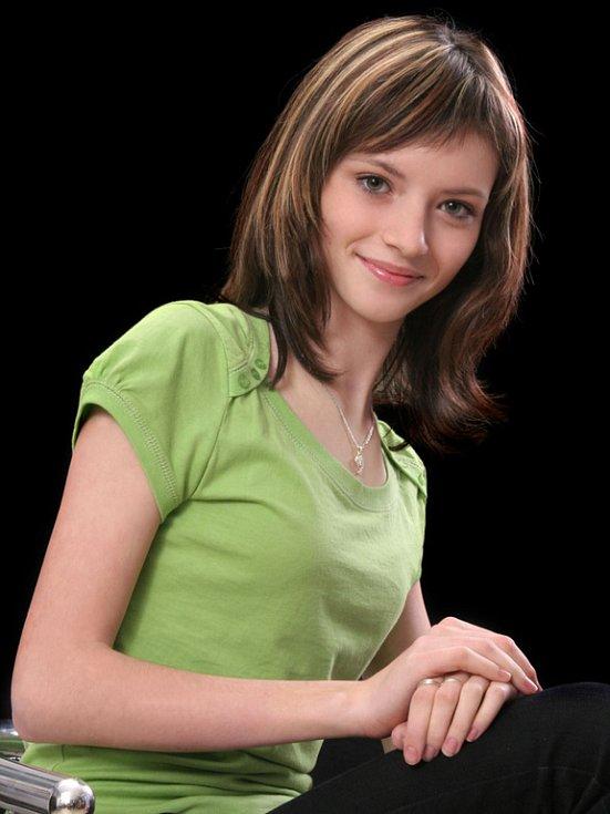 6. Veronika Žaganová, 13 let, Hranice