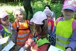 Děti ze třídy Sluníček MŠ Pohádka navštívili arboretum.