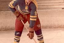 Bohumil Šrom začínal s hokejem v Olomouci.