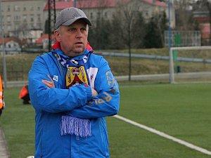 Trenér Hranic Jan Jursík.