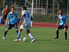 1. FC Přerov porazil v derby Kozlovice 2:1.