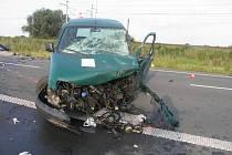 Vážná dopravní nehoda, která si vyžádala dva lidské životy