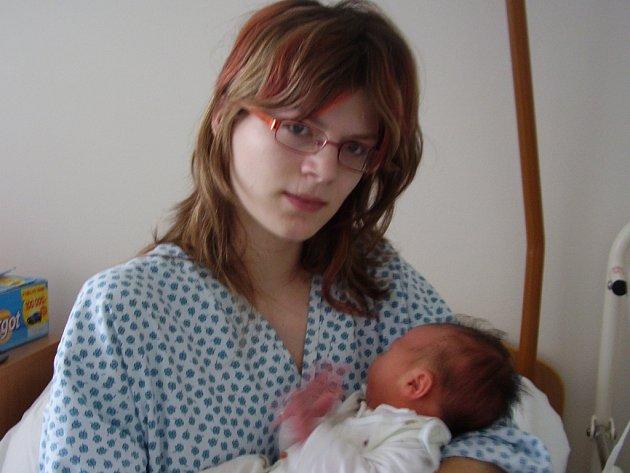 Hana Hanusová, Přerov, dcera Eliška Hanusová, narozena 12. 3. 2008 v Přerově, váha: 3,48 kg