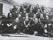 Zakladatelé Sboru dobrovolných hasičů v Ústí.