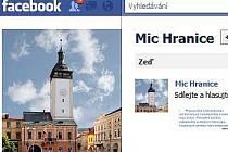 Stránka MIC Hranice na Facebooku