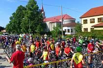Na startu Moravské brány v Černotíně se sešel rekordní počet účastníků.