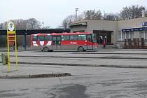 Autobusové nádraží v Hranicích
