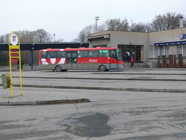 Autobusové nádraží vHranicích