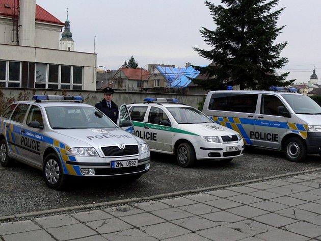 Hraničtí policisté obměnili vozový park.