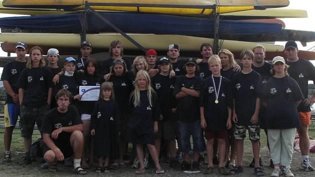 Hraničtí vodáci vylovili dvě medaile a několik umístění v první desítce.