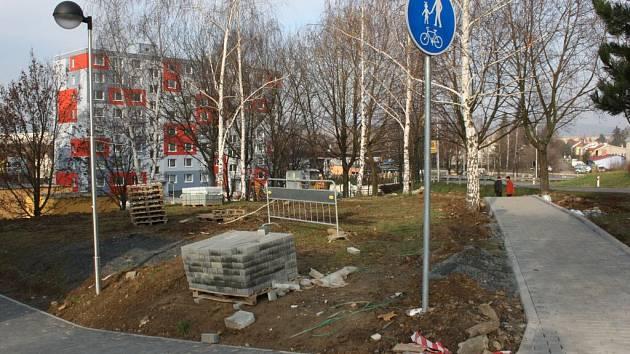 Rekonstrukce Galašovy ulice v Hranicích. Ilustrační foto