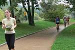 Vytrvalostní závod v hranickém parku