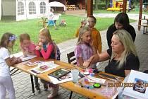 Poslední prázdninová sobota ve Skaličce patřila dětem.
