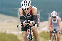 Triatlet Jakub Chmelíček