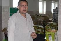 Výrobce zemědělských potravin a držitel certifikátu Moravská brána Eduard Kozák