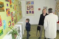 Galerie M+M - vernisáž k výstavě studentky Terezy Špundové