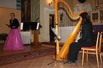 """Adventní koncert """"Harfa andělům"""" v kapli v Malhoticích"""