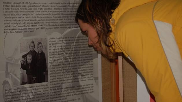 Výstava s názvem Příběhy bezpráví je součástí festivalu Jeden svět.