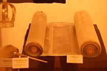 V muzeu jsou k vidění materiály týkající se Židů žijících v Přerově, ale také předměty, které se vztahují k židovským tradicím a náboženským rituálům.