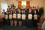 Slavnostní pasování studentů prvního ročníku Střední lesnické školy v Hranicích