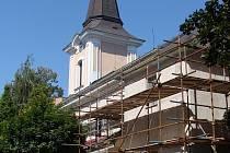 Do rekonstrukce farního kostela svaté Marie Magdaleny v Předmostí se investovalo zhruba půldruhého milionu.
