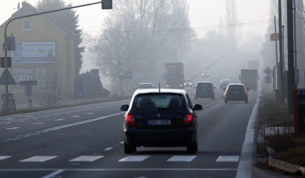 Smog v Hranicích
