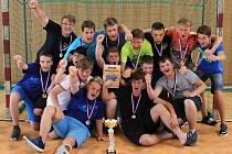 Starší žáci TJ Cement Hranice po vítězství v Polanka Cupu