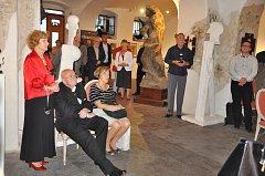 Hraničtí umělci společně s umělci ze Slovinska vystavují v pražské galerii Lapidarium.