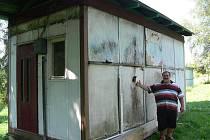 Unimobuňky v horní části hranického autokempu potřebují nezbytnou renovaci