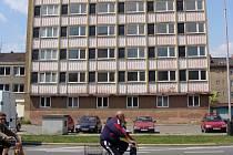 Objekt bývalé sociální budovy v Bayerově ulici