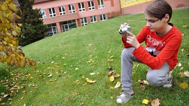 Vítěz soutěže žáků základních škol Ondřej Vlasák