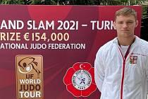Martin Bezděk poprvé na Grand Slamu.