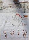 č.15. Autor: Igor Sivicek. Návrh památníku TGM v Hranicích
