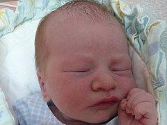 Matěj Zbruž, Hluzov, narozen 17. června 2012 ve Valašském Meziříčí, míra 49 cm, váha 3 400 g