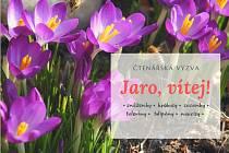 Čtenářská výzva: Jaro, vítej!