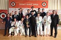 Úspěšný hranický oddíl Judo Železo na domácím MČR juniorů a juniorek 2018.