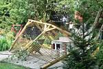 Ničivá vichřice zasáhla i lokalitu Pod Bílým kamenem v Hranicích.