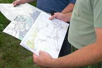Vojenské mapování terénu na Hranicku