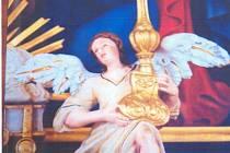 Anděl, který zmizel z kaple v Milenově.